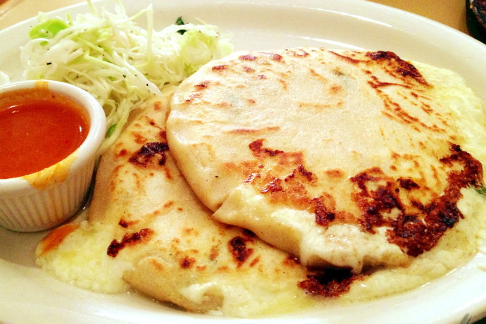 photo of cheese and loroco papusas from Mi Pueblito, East Boston, MA (from hiddenboston.com)