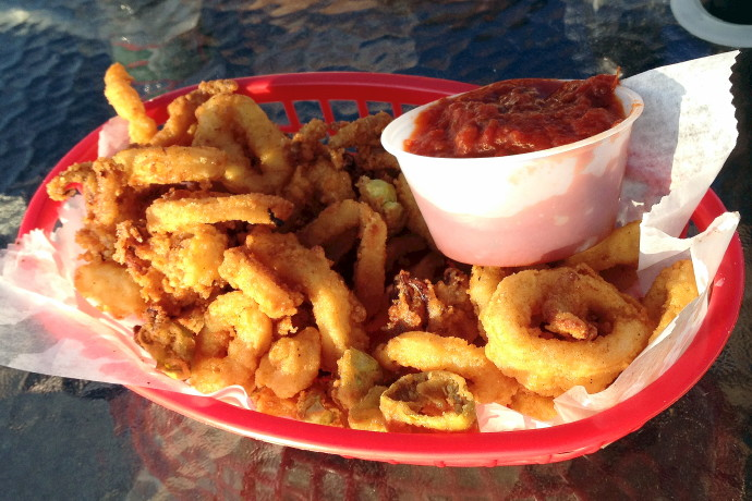 photo of calamari from Millie's Kitchen, Winthrop, MA