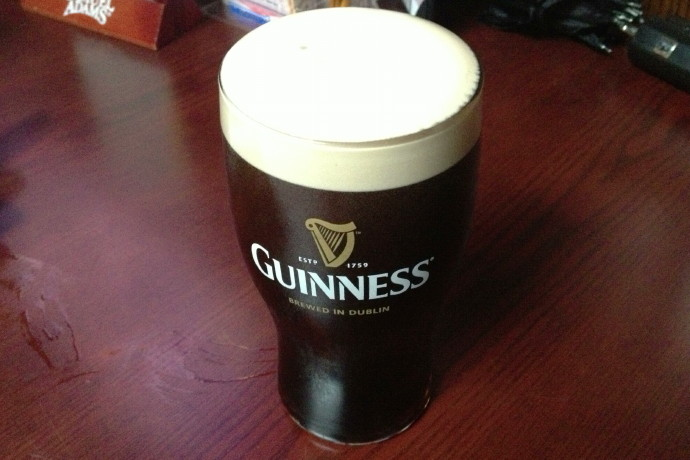 photo of Guinness Stout from Napper Tandy's, Roslindale, MA