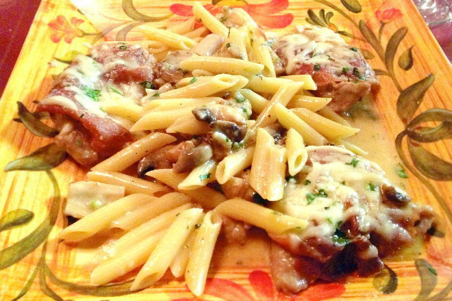photo of veal saltimbocca from Nappi Meats and Groceries, Medford, MA