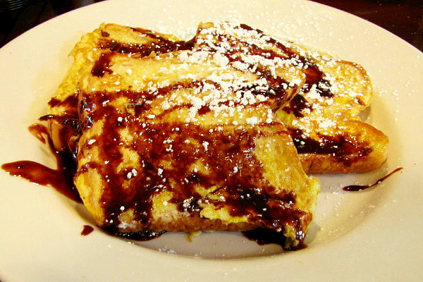photo of Nutella French toast from Niko's Restaurant, Weymouth, MA