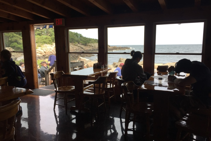 Fif More Restaurants And Bars In Scenic Locations New England Oarweed Restaurant Ogunquit Me