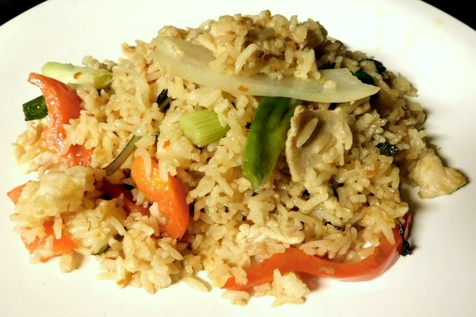 Photo spicy chicken fried rice from patou thai belmont for Cuisine thai