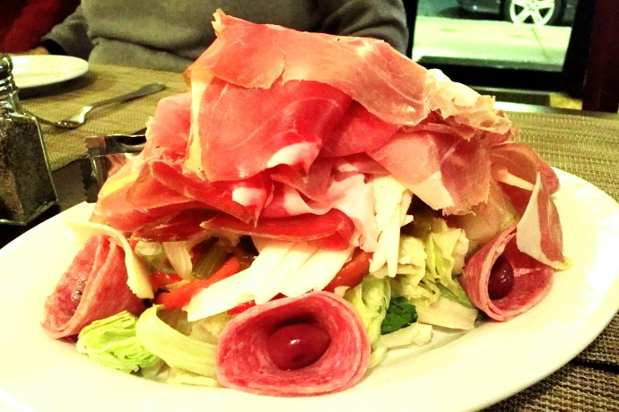 photo of antipasto from Pescatore, Somerville, MA