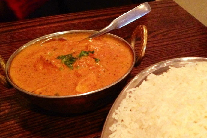 photo of chicken tikka masala from Punjab Cafe, Quincy, MA