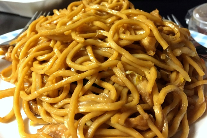 photo chicken lo mein from qingdao garden cambridge ma bostons hidden restaurants - Qingdao Garden