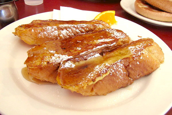 photo of French toast from Renee's Cafe, Somerville, MA