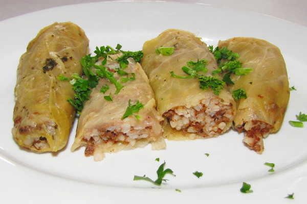 photo of stuffed cabbage leaves from Sahara Cafe and Restaurant, Worcester, MA