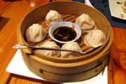 photo of soup dumplings from Shanghai Gate, Allston, MA