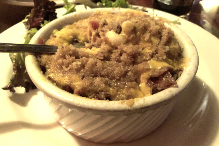photo of macaroni and cheese from Silvertone, Boston, MA