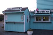 photo of the snack bar at the Mendon Drive-In, Mendon, MA