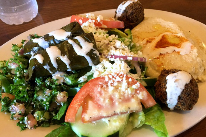 photo of The Sampler from South End Pita, Boston, MA