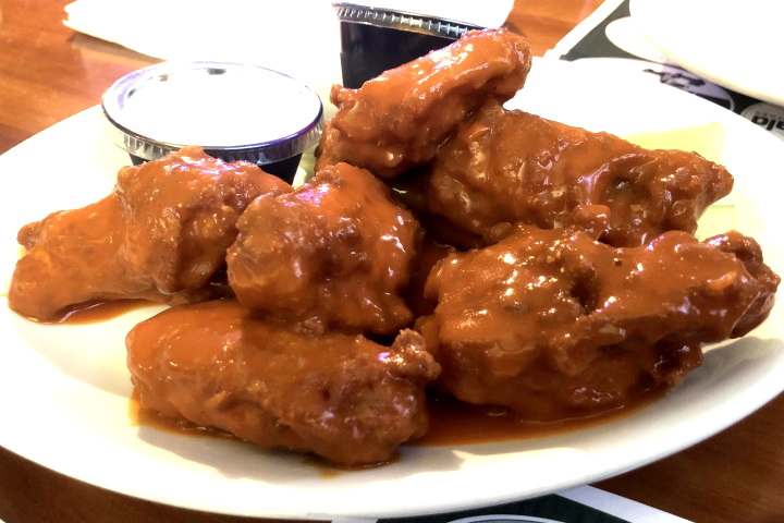 photo of chicken wings from The Squires, Hanover, MA