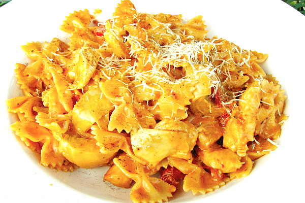 photo of farfalle Tuscano from Stella Notte, Jeffersonville, VT