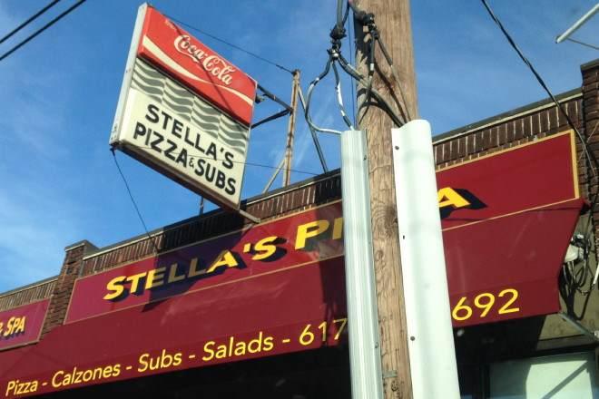 Stellas Pizza Watertown Ma Bostons Hidden Restaurants