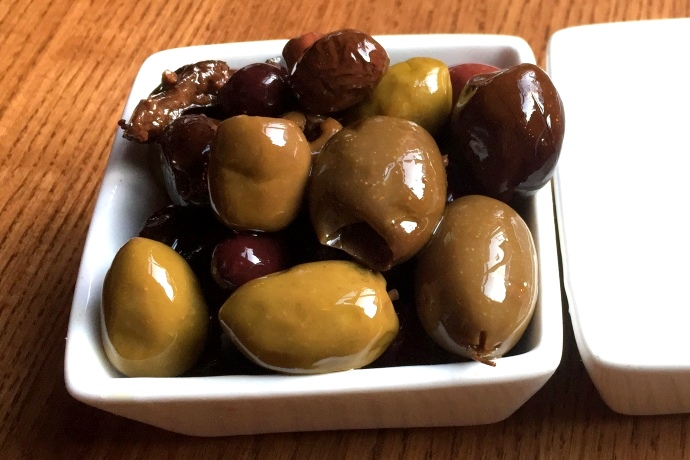 photo of olives from Tavolo, Dorchester, MA