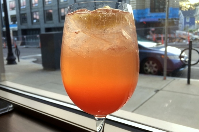 photo of Beale St. Spritz (Ketel One, Prosecco, Aperol, lime, grapefruit) from Tavolo, Dorchester, MA