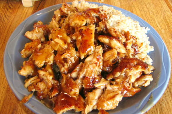 photo of chicken teriyaki from Teriyaki House, South Boston, MA