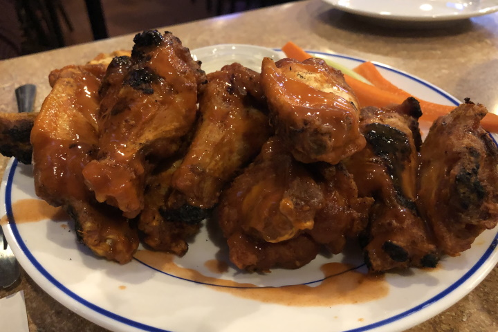 photo of chicken wings from The Pub, Somerville, MA