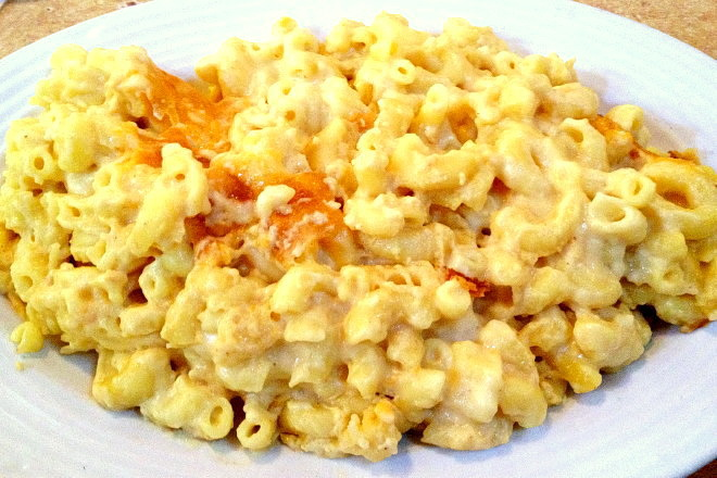 photo of macaroni and cheese from The Restaurant, Woburn, MA