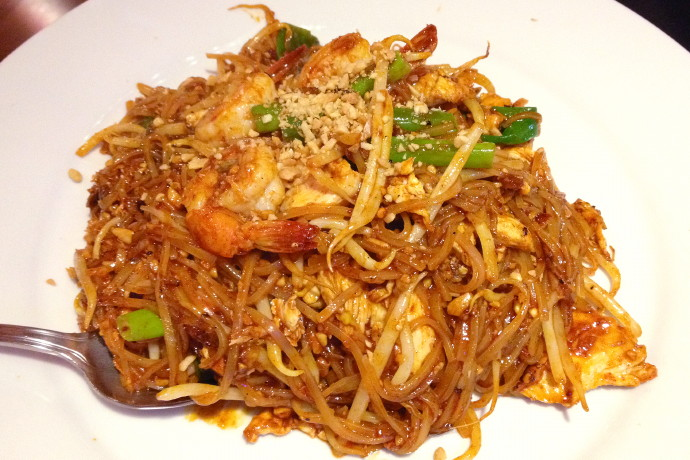 photo of country pad Thai from 3 Country Bistro, Woburn, MA