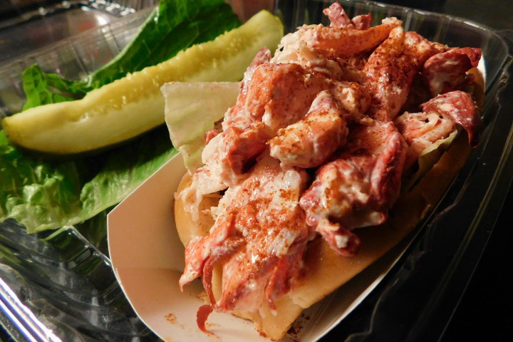 photo of a lobster roll from Tony's Clam Shop, Quincy, MA