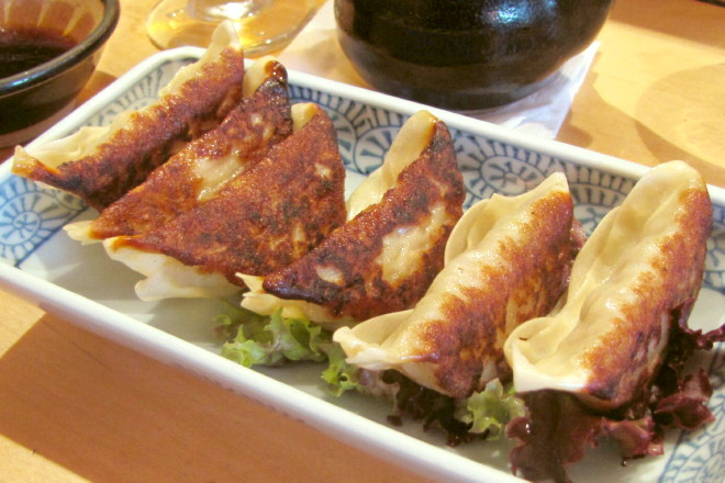 photo of gyoza from Toraya, Arlington, MA