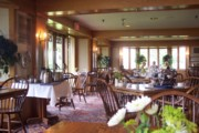 photo of the dining room at the Trapp Family Lodge, Stowe, VT