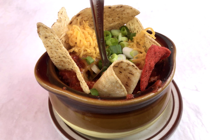 photo of chili from the Vanilla Bean Cafe, Pomfret, CT