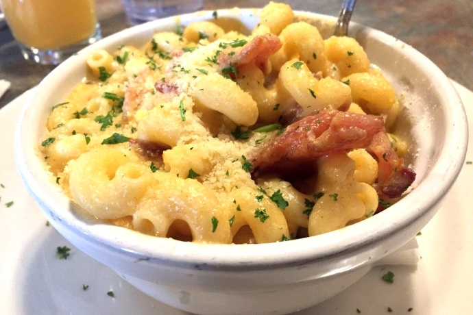 photo of Macaroni and cheese with bacon from The Village Manor, Dedham, MA