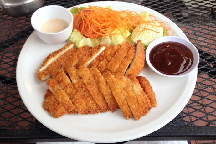photo of chicken katsu from Village Sushi and Grill, Roslindale, MA