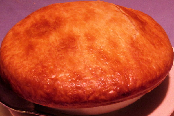 photo of chicken pot pie from Winthrop Arms, Winthrop, MA